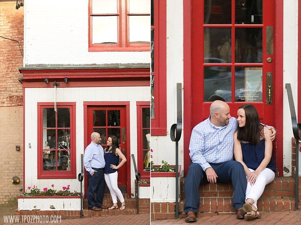 Downtown Annapolis Engagement || tPoz Photography || www.tpozphoto.com