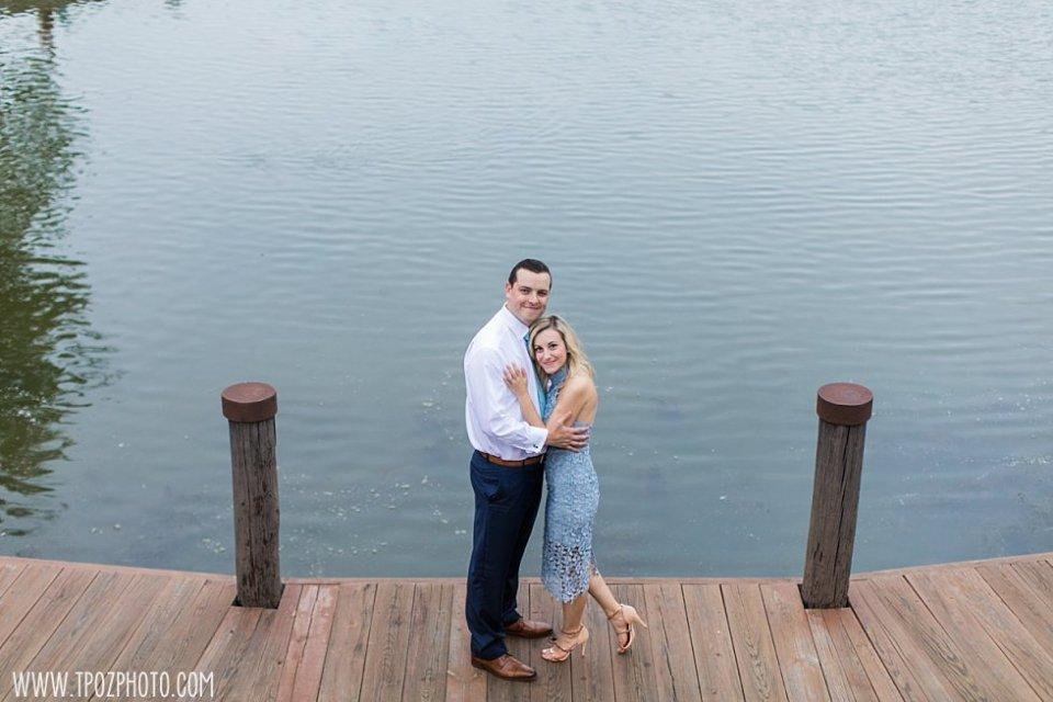 Centennial Park Rowboat Engagement Session • tPoz Photography • www.tpozphoto.com
