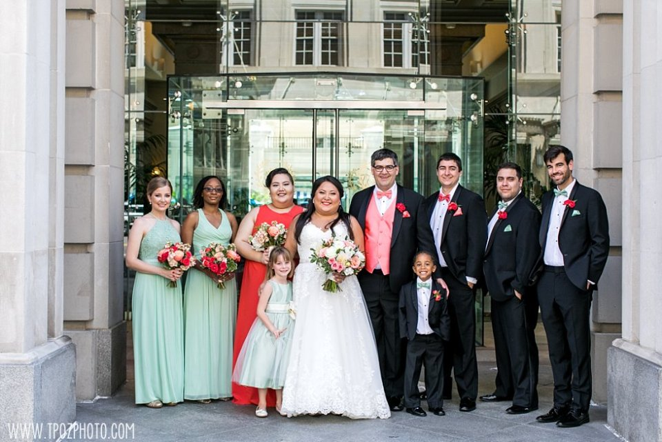 Wedding Party at The Willard  •  tPoz Photography  •  www.tpozphoto.com