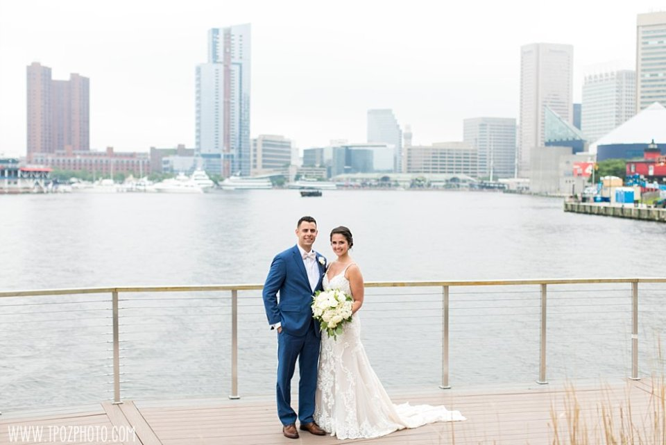 Harbor East Wedding Portraits  •  tPoz Photography  •  www.tpozphoto.com