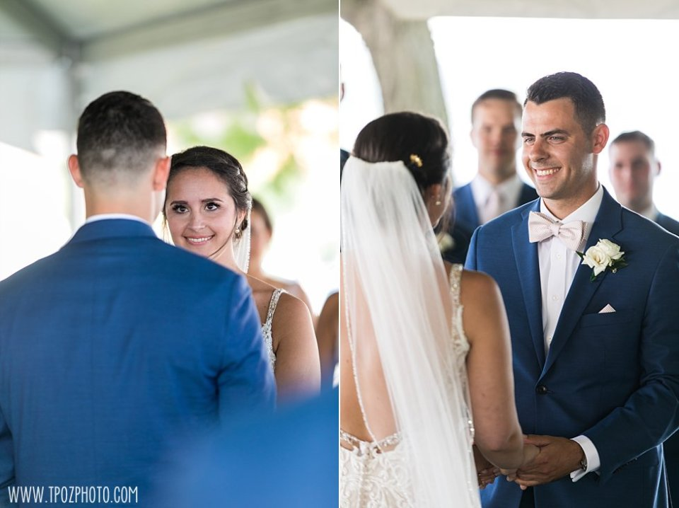 Pier 5 Gardens Wedding Ceremony •  tPoz Photography  •  www.tpozphoto.com