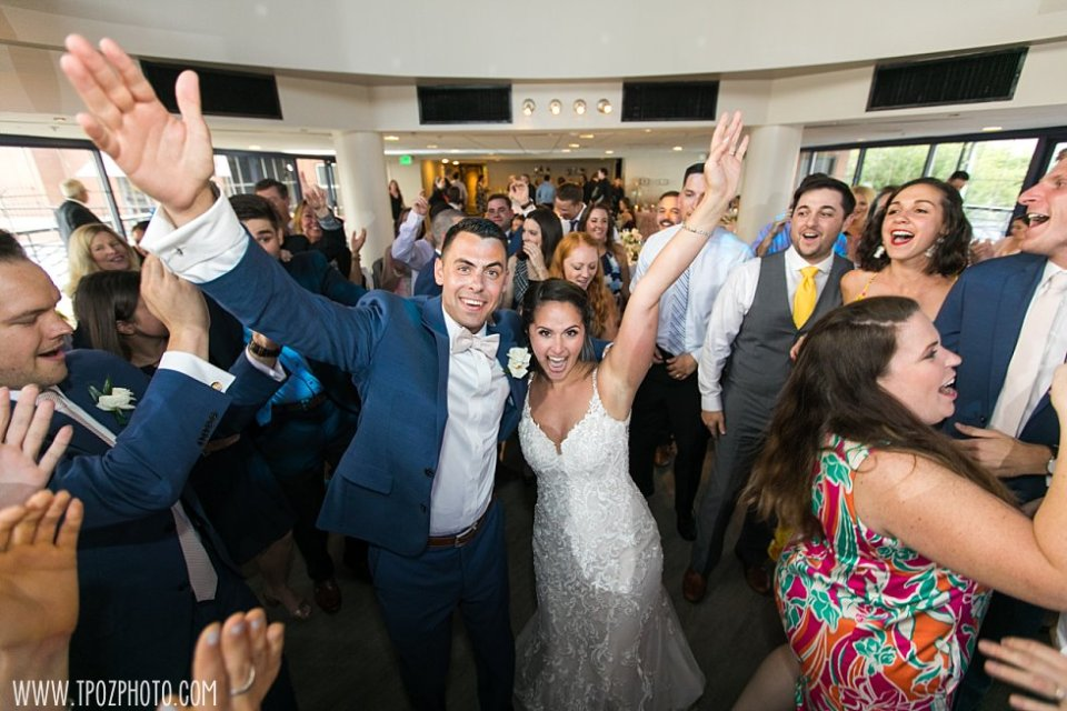 Dancing at a Pier 5 Hotel Wedding Reception •  tPoz Photography  •  www.tpozphoto.com