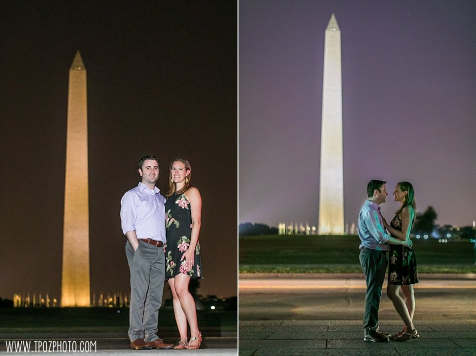 DC Engagement Session • tPoz Photography  •  www.tpozphoto.com