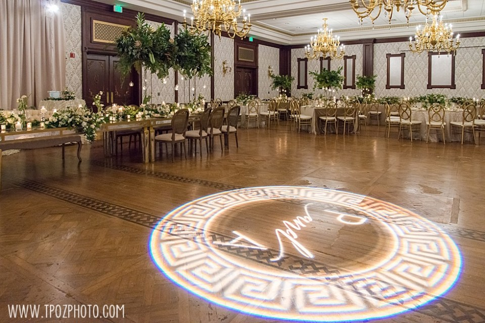 The Grand Lodge of Maryland wedding decor  by Elizabeth Bailey Weddings. • tPoz Photography  • www.tpozphoto.com