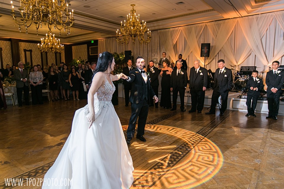 Baltimore Greek wedding at The Grand Lodge of Maryland  •tPoz Photography  •www.tpozphoto.com