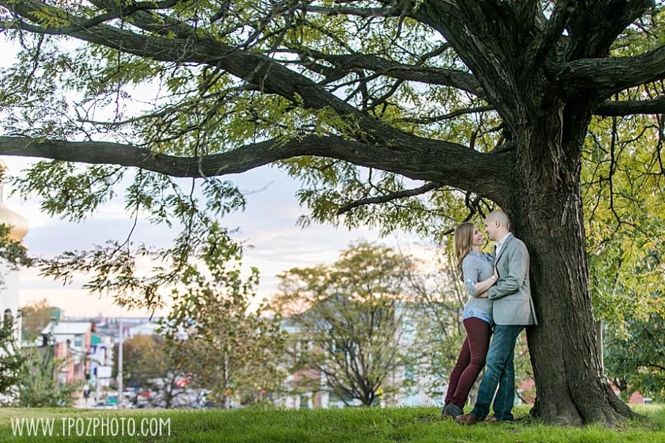 Patterson Park Engagement Session •tPoz Photography  • www.tpozphoto.com