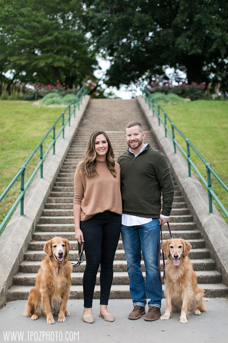 Baltimore couple and their 2 dogs •tPoz Photography  •www.tpozphoto.com