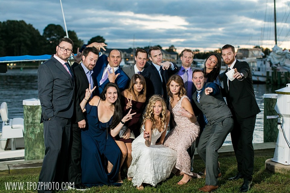 Chesapeake Bay Maritime Museum wedding reception