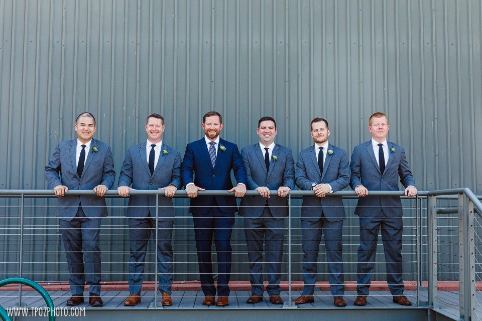 groomsmen Summer BMI Wedding