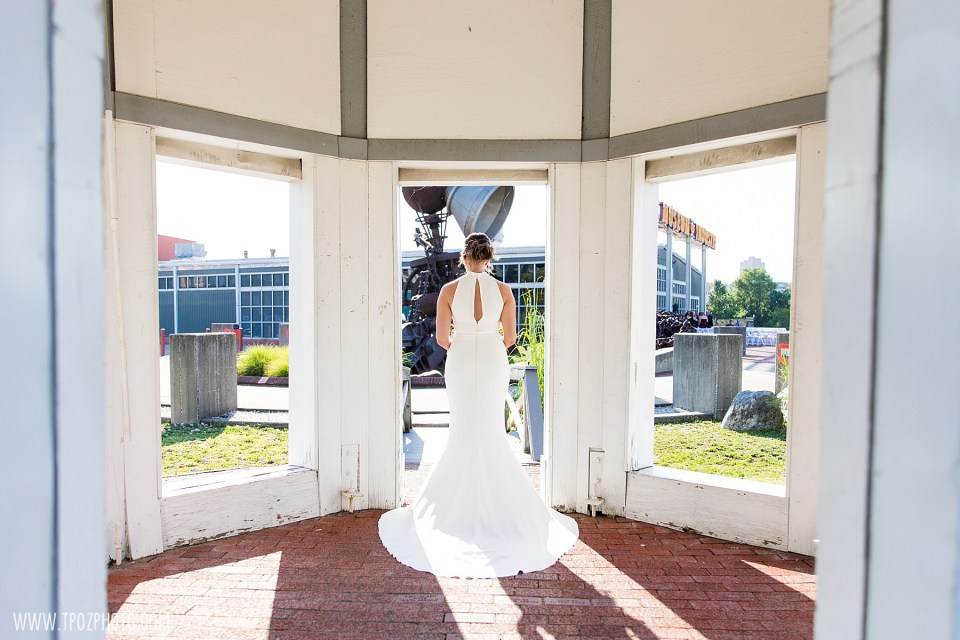 bride at Baltimore Museum of Industry