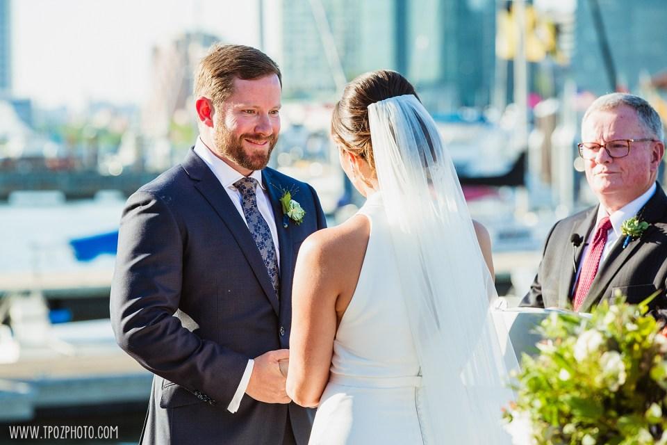 Summer BMI wedding ceremony