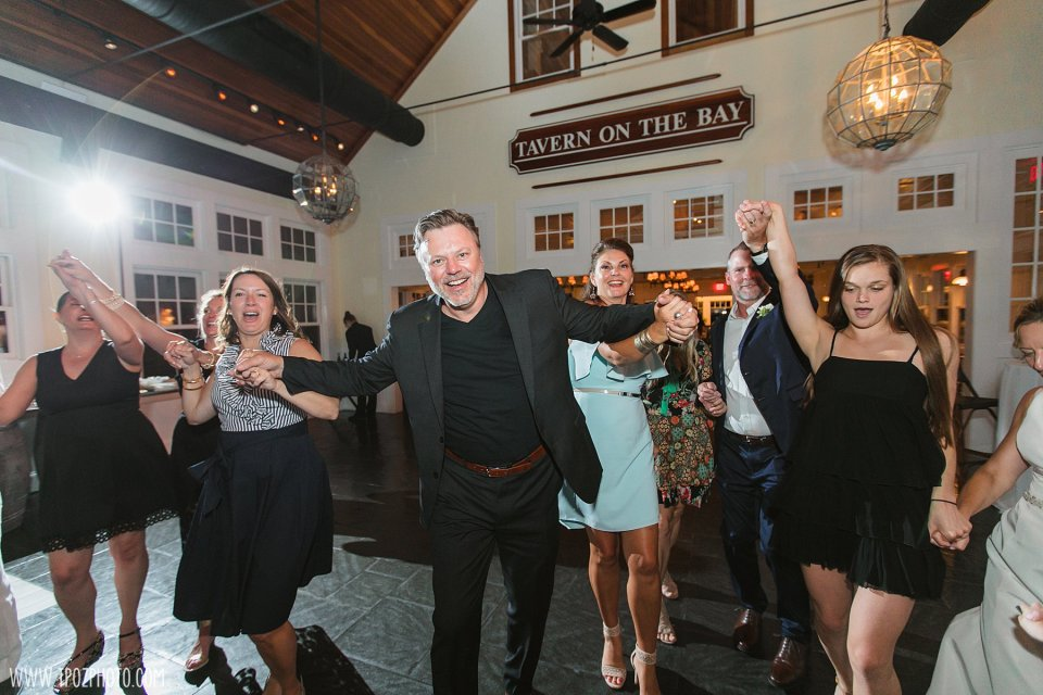 wedding reception at the Tavern on the Bay Ballroom