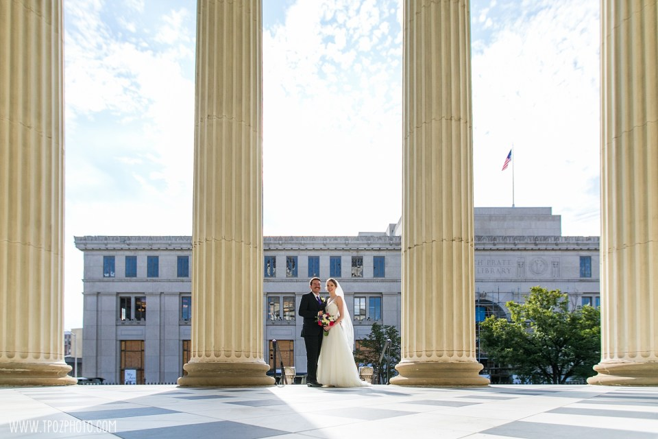 Baltimore Basilica Wedding Photos