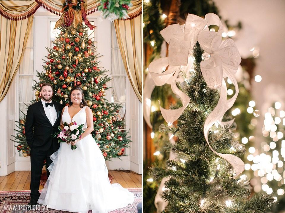 Christmas-themed Antrim Wedding Photos