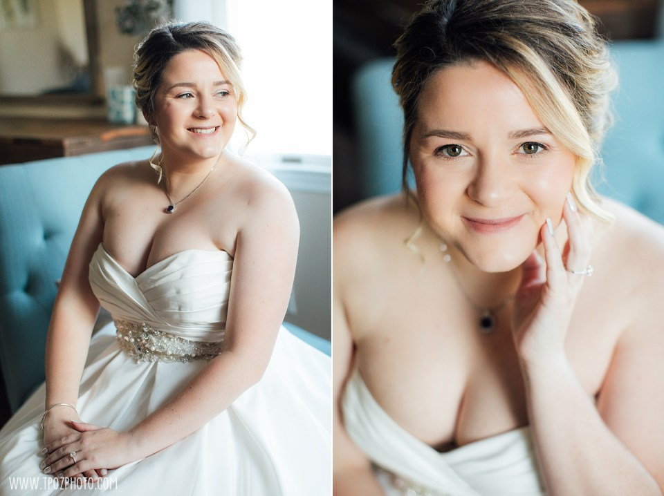 Wedding Prep at Rosewood Farms • tPoz Photography