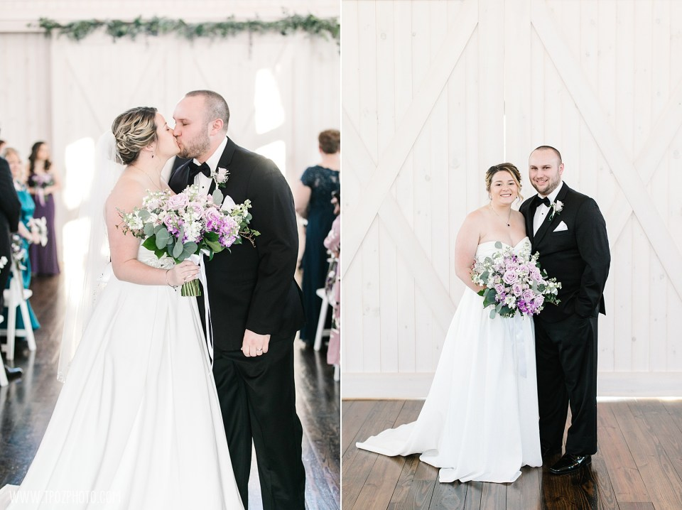 Wedding Ceremony at Rosewood Farms • tPoz Photography