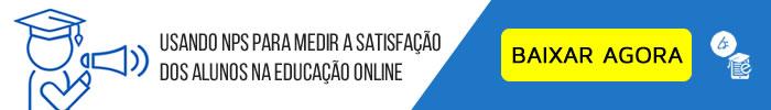 nps no setor da educação - satisfação de clientes - tracksale