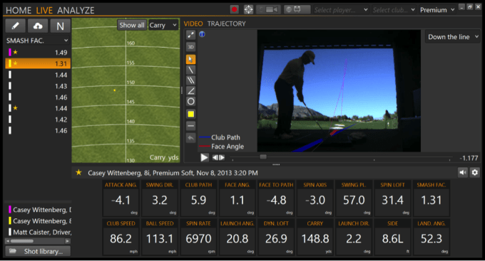 When lining up square is wrong - TrackMan
