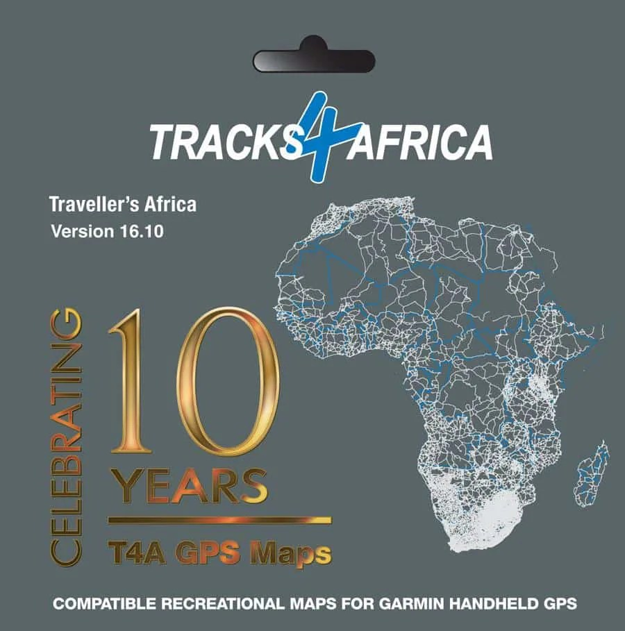 The GPS map called Traveller's Africa.