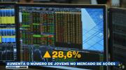 Aumenta o número de jovens no mercado de ações - Jornal da Band