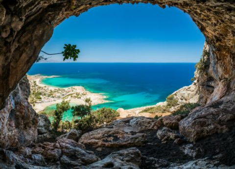 Crete Island - Greece via shutterstock