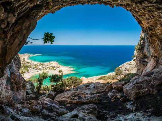 Crete Island - Greece via shutterstock