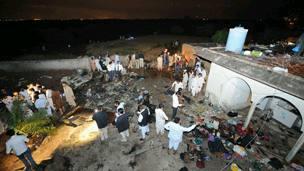bhoja air plane crashed near islamabad airportpakistan