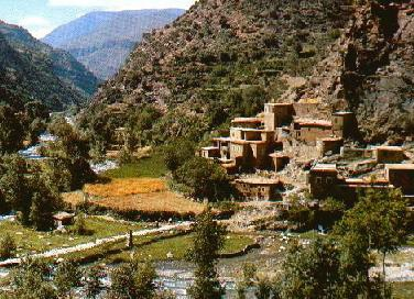 Ourika-Valley- Landscape
