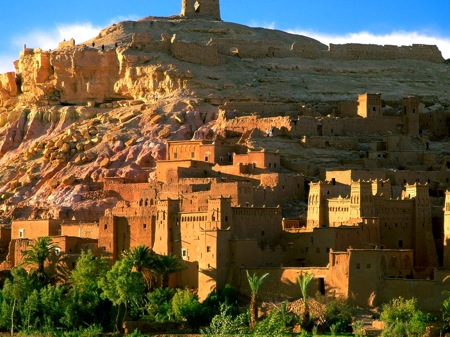 Kasbah-Ruins-Ait-Benhaddou-Morocco