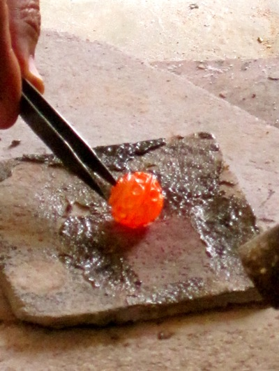 Bead Making by Fire in Taradount