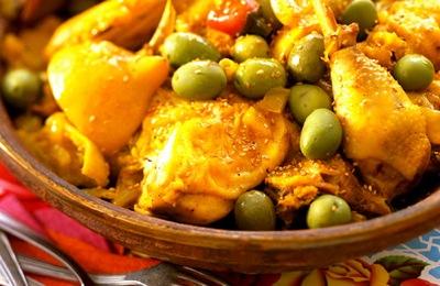 Chicken Olive and Preserved Lemon Tajine