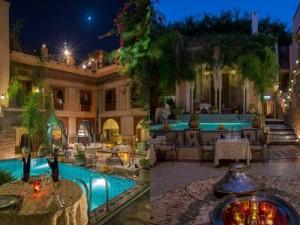 Palais Sebban Marrakech Courtyard Garden
