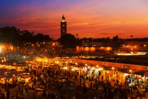 Mosque of Koutoubia Marrakech View