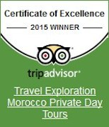Travel Exploration Morocco Trip Advisor 2015 Award Winner