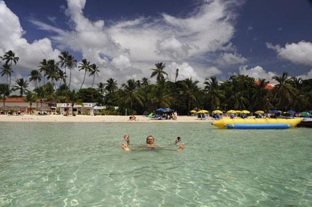 Boca Chica Elizabeth a tengerparton