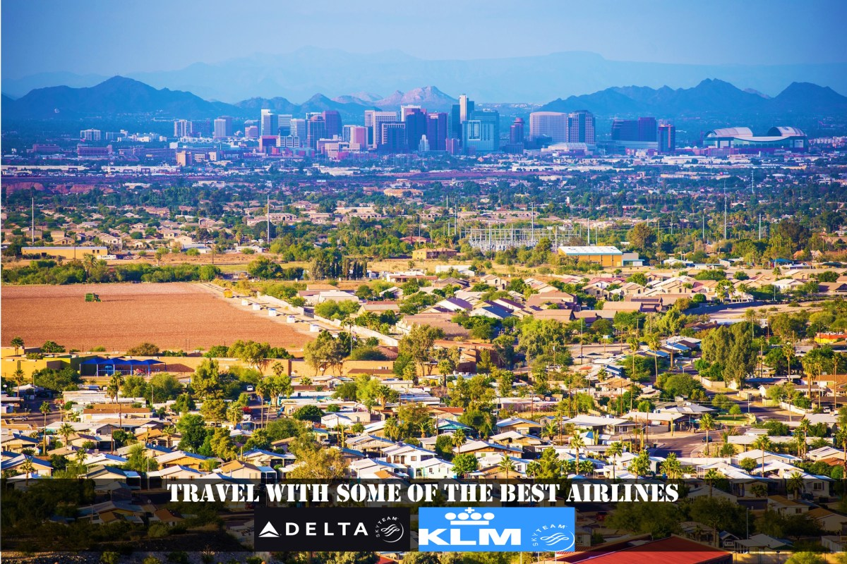 Phoenix – The Capital of city of Arizona.