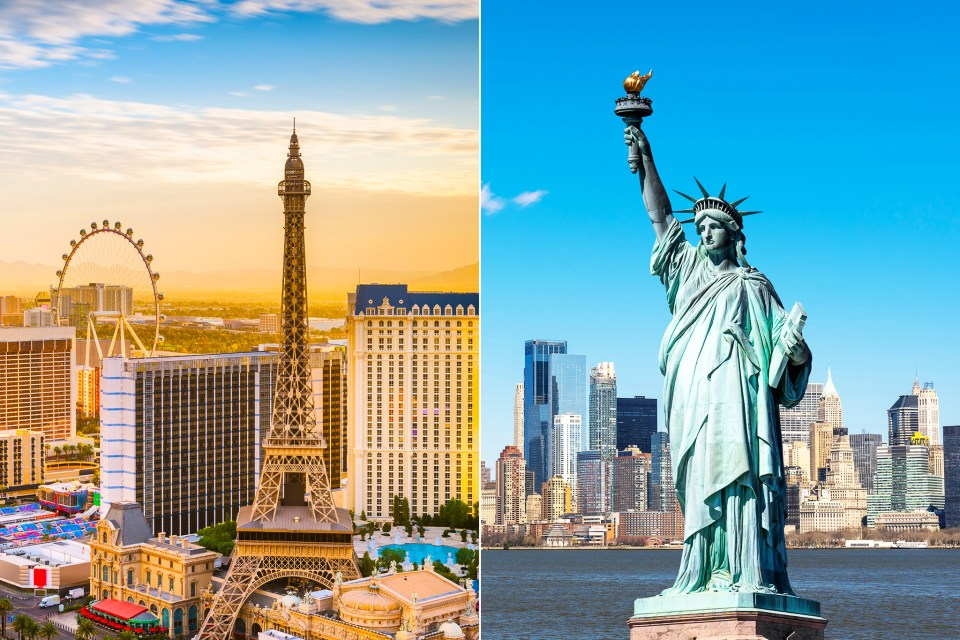 New York to Las Vegas – From a City that Never Sleeps to the Entertainment Capital