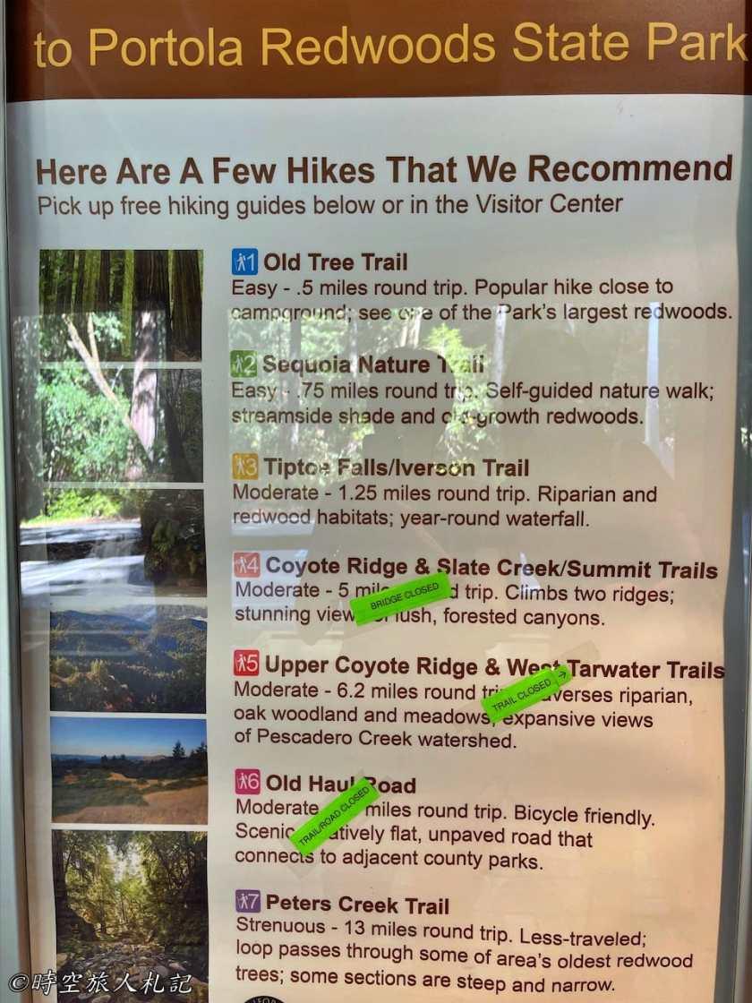 Portola redwood state park 12