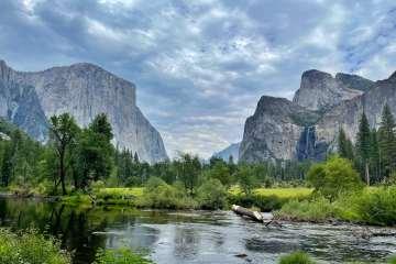 Yosemite valley view 優勝美地