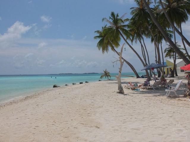 Bikini or tourist beach
