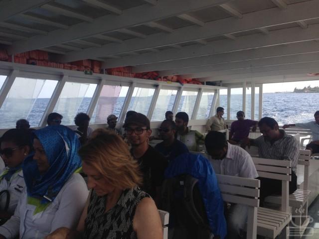 Di dalam Ferry
