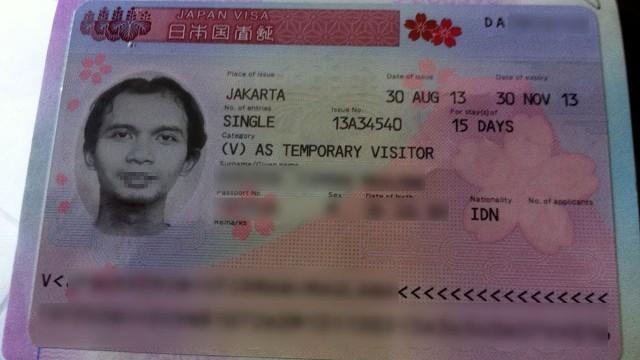 Visa Jepang dengan Mozaik