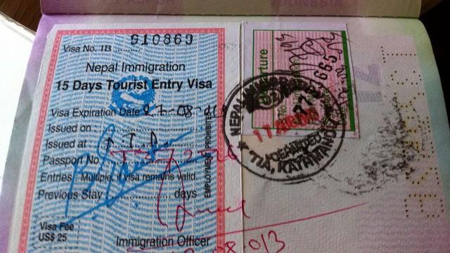 Visa Nepal
