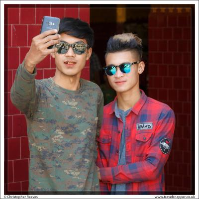 Myanmar selfie
