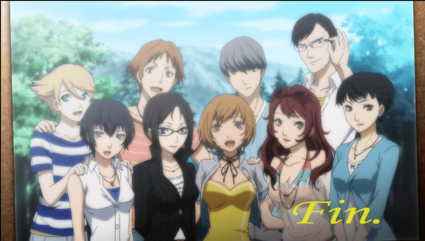 Persona 4 Golden epilogue
