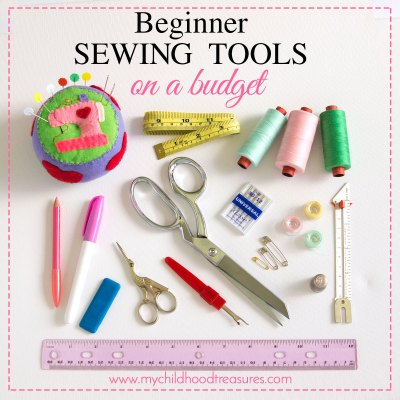 Beginners Sewing Kit on a Budget – Best Sewing Supplies & Tools