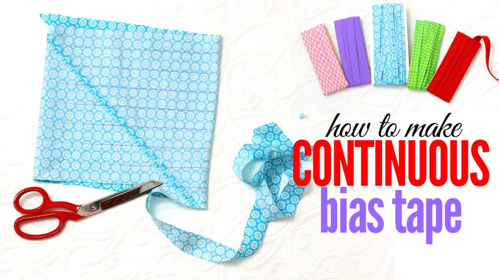 continuous bias tape