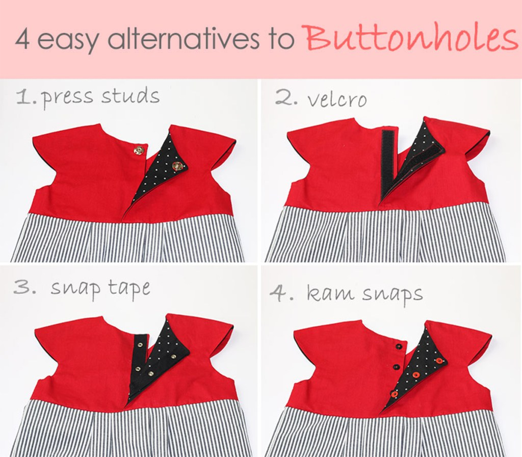 alternatives to buttonholes