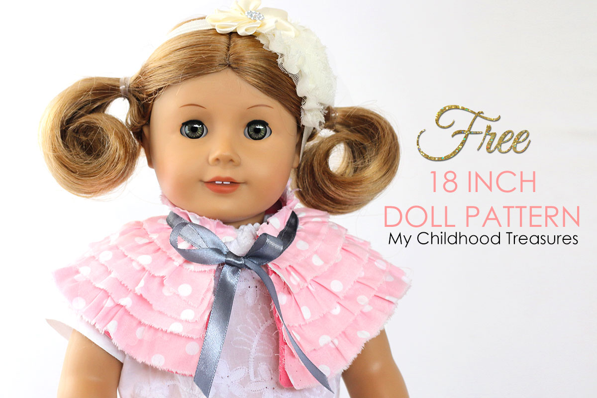graphic relating to Free Printable Doll Clothes Patterns for 18 Inch Dolls titled Free of charge doll clothing types - 18 inch doll clothing Guideline