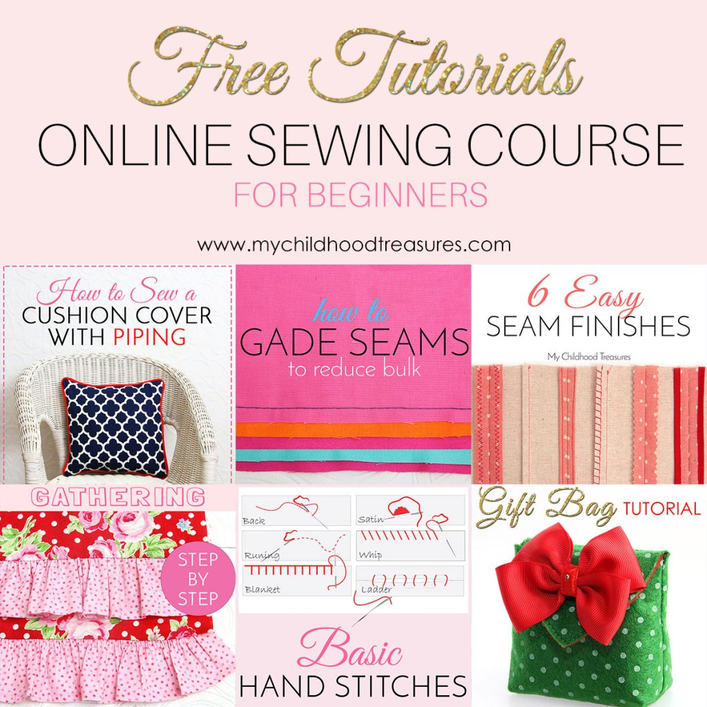 Learn to sew online 100 free sewing lessons for beginners treasurie learn to sew online baditri Gallery